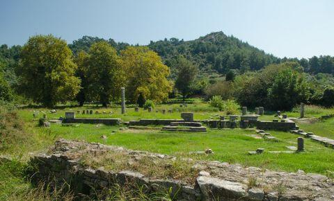 Agora Antica din Insula Thassos