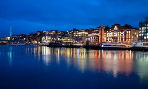Cartierul Aker Brygge din Oslo