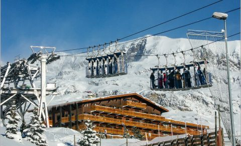 Statiunea Alpes d'Huez din Grenoble