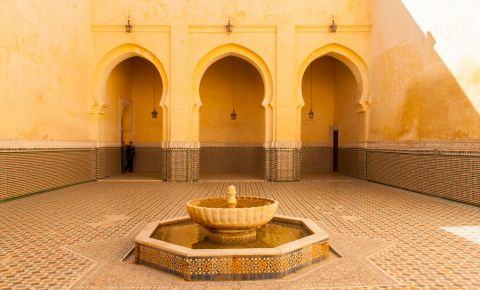Altarul Moulay Idriss din Fes