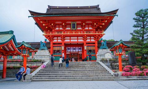 Altarul Zeitei Inari din Kyoto