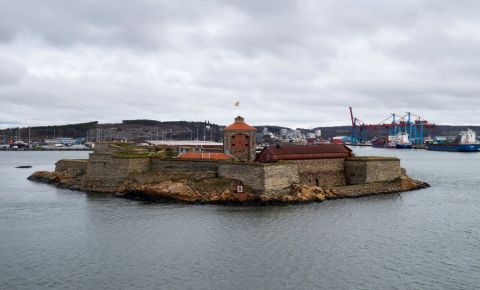 Fortareata Alfsborgs din Goteborg