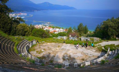 Amfiteatrul Antic din Insula Thassos