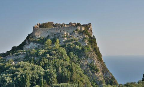 Fortareata Angelokastro din Insula Corfu