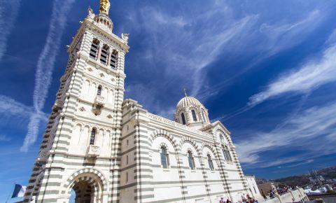 Basilica Notre Dame de la Garde din Marsilia