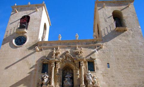 Basilica Santa Maria din Alicante