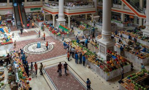 Bazarul Barakat din Dusanbe