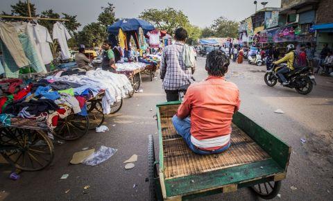 Bazarul Chandni Chowk din New Delhi
