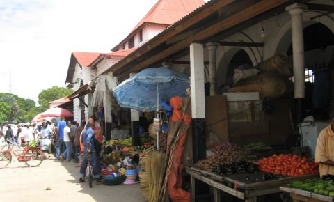 Bazarul Darajani din Zanzibar