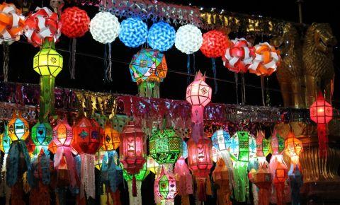Bazarul Nocturn din Chiang Mai