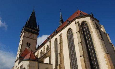 Bazilica Sfantul Egidius din Bardejov