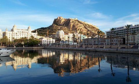 Muntele Benacantil din Alicante