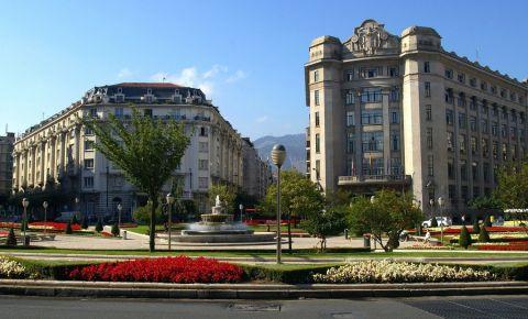 Piata Moyua din Bilbao