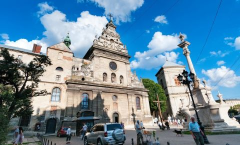Biserica si Manastirea Bernardine din Liov