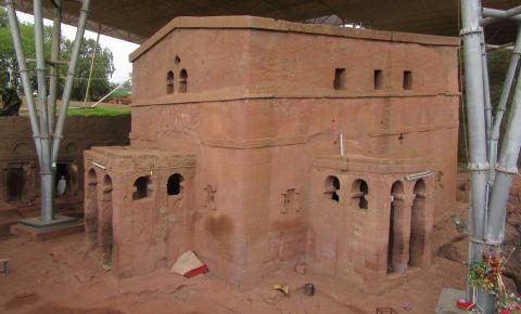 Biserica Bet Maryam din Lalibela