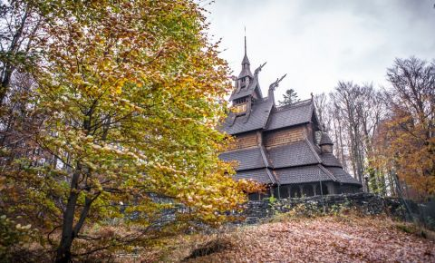 Biserica Fantoft din Bergen