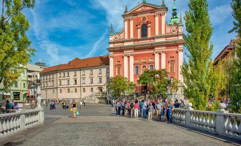 Biserica Franciscana Buna Vestire din Ljubljana