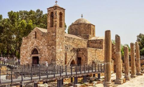 Biserica Kyriaki Chrysopolitissa din Paphos