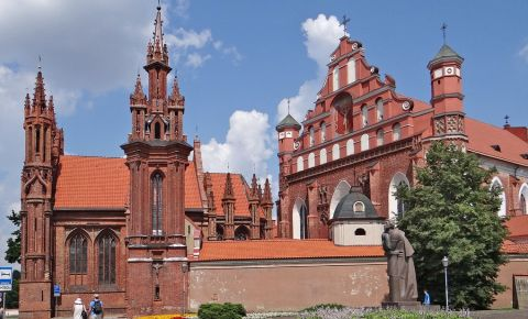 Biserica Sfanta Ecaterina din Vilnius