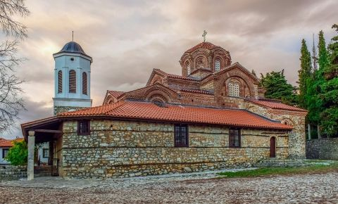 Biserica Sfanta Bogorodica Perivlepta din Ohrid