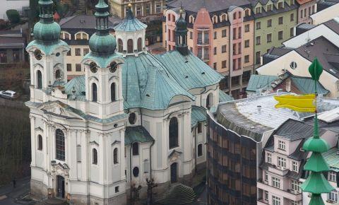 Biserica Sfanta Maria Magdalena din Karlovy Vary