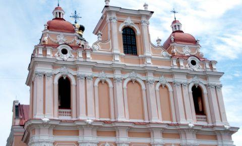 Biserica Sfantul Cazimir din Vilnius