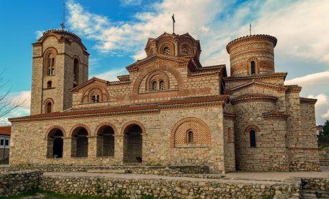 Biserica Sfantul Pantelimon din Ohrid