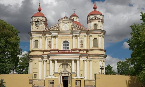 Biserica Sfintii Petru si Pavel din Vilnius