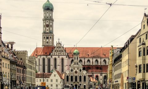 Biserica Sfintii Ulrich si Afra din Augsburg