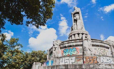 Monumentul Bismarck din Hamburg