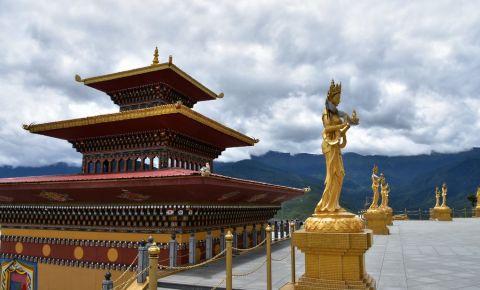 Panorarama Buddha din Thimphu