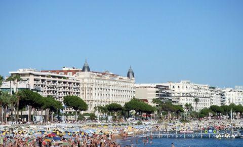 Bulevardul Croisette din Cannes