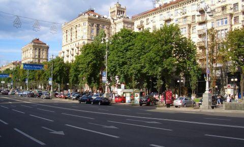 Bulevardul Khreschatyk din Kiev
