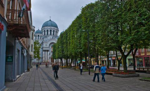 Bulevardul Libertatii din Kaunas