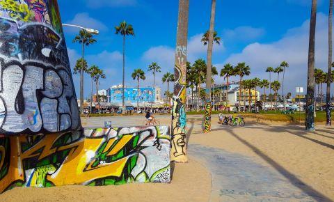 Bulevardul Venice Boardwalk