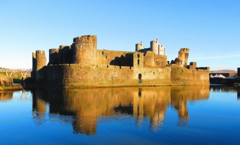 Castelul Caerphilly din Cardiff