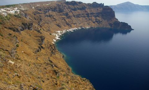 Caldarea Vulcanica din Insula Santorini