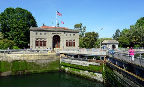 Canalul Locks Ballard din Seattle