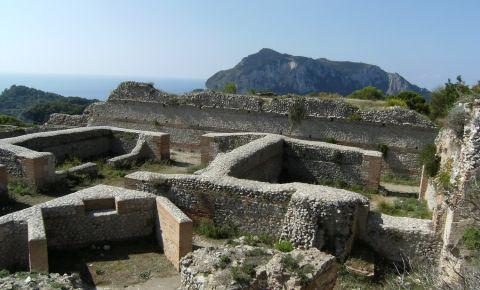 Vila Jovis din Insula Capri