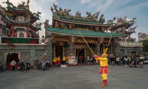 Cartierul Anping din Tainan