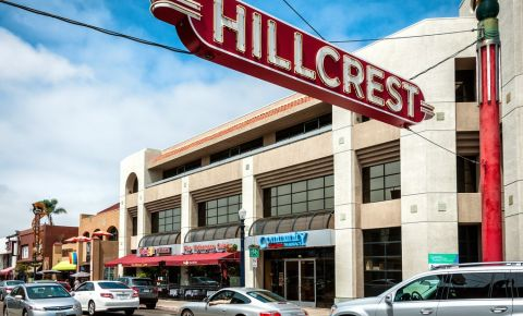 Cartierul Hillcrest din San Diego