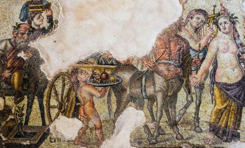 Casa lui Dionysos din Paphos