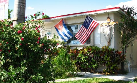 Casa lui Elian Gonzalez din Miami