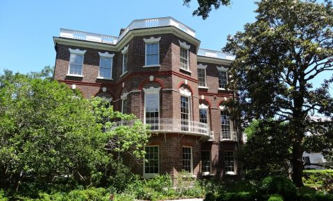 Casa Nathaniel Russell din Charleston