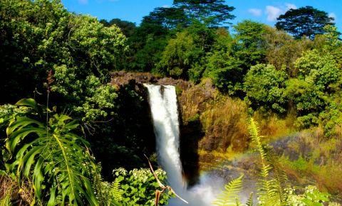 Cascada Curcubeu din Hawaii