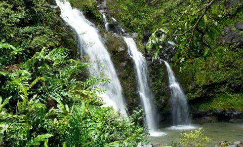 Cascada Opaeka's din Kaua'i