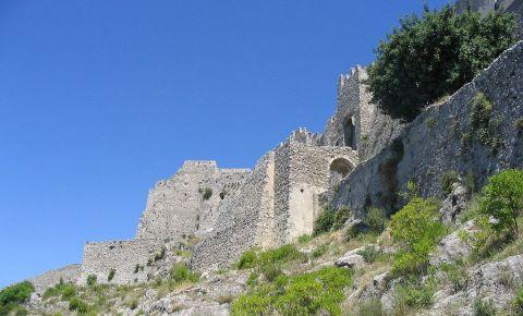 Castelul Arechi din Amalfi