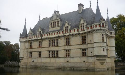 Castelul din Azay-le-Rideau - Amboise