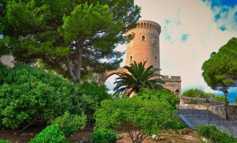 Castelul Bellver din Palma de Mallorca