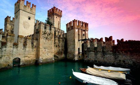 Castelul din Brescia